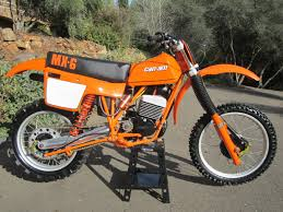 restored vintage motocross bikes for sale restored can am mx6 250b 1981 photographs at classic bikes