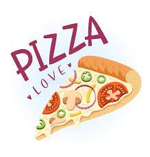amour de cuisine pizza amour de pizza illustration de vecteur illustration du poivre