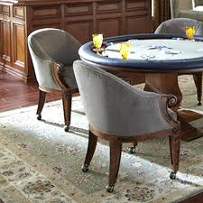 swivel dining chairs with casters uk without wheels gunfodder com
