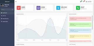 top 22 free responsive html5 admin u0026 dashboard templates 2017