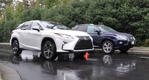 2016 lexus rx first drive 2016 lexus rx vs 2015 model 3