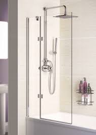 shower enclosures doors bath screens lakes bathrooms 8mm hinged bath screen