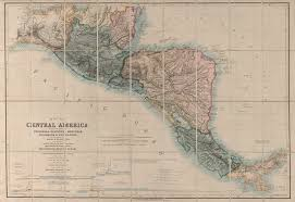 A Map Of Central America by Map Of Central America Including The States Of Guatemala Salvador