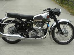 velocette venom 500 electric start 1957 restored classic