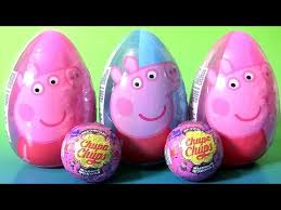 easter eggs surprises peppa pig easter egg 2017 chupa chups peppa pig