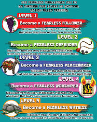 vacation bible 2017 fearless csm publishing