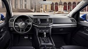 volkswagen crafter 2017 interior volkswagen amarok facelift model displays a car like cabin