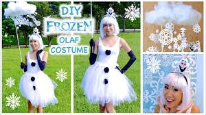 Frozen Costume Olaf Inspired Costume Frozen Costume Cosplay Youtube