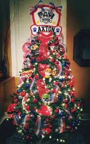 paw patrol christmas tree christmas pinterest paw patrol
