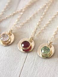 monogram necklaces bridesmaid jewelry set of 6 wedding signette monogram necklace