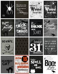 Printables For Halloween Halloween Printables A And A Glue Gun