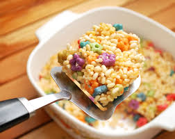 fruit treats how to make fruit loop rice krispie treats 7 steps