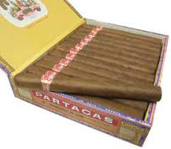 2 boxes partagas churchill de luxe cuban cigars for sale