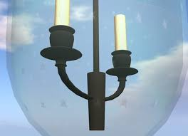 Hundi Light Fixture by Second Life Marketplace Classic Antique Hundi Light Copy Mod
