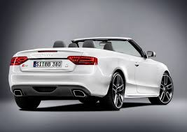 audi s5 convertible white b b audi a5 and s5 cabriolet picture 27105