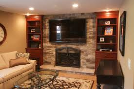 stone look fireplace home decorating interior design bath