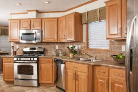 kitchen ideas with oak cabinets and stainless steel appliances tl806a timberland ranch trendy kitchen backsplash