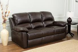 Black Leather Reclining Sofa And Loveseat Amazon Com Abbyson Westwood Top Grain Leather Sofa Home U0026 Kitchen