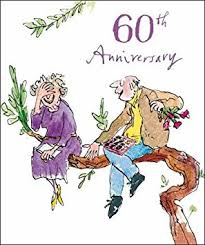 60th wedding anniversary wishes woodmansterne 60th wedding anniversary card 9303 quentin