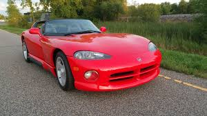 0 60 Dodge Viper There U0027s A 24 Mile 1994 Dodge Viper Rt 10 For Sale Right Now The