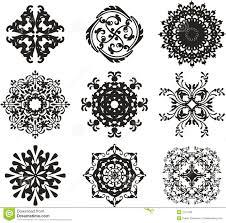 black ornament illustration royalty free stock images image 2101789