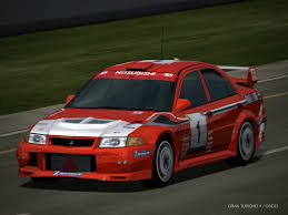 mitsubishi lancer evo 6 mitsubishi lancer evolution vi rally car driving by patemvik on
