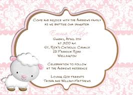 Sample Of Invitation Card For Christening Baptism Invitation Catholic Baptism Invitations Baptism