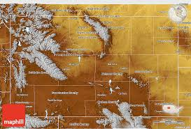 map of wyoming physical 3d map of wyoming