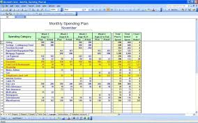 Personal Budget Spreadsheet Template Sle Personal Budget Personal Budget Planner Template Personal