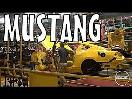 ford mustang assembly plant tour ford mustang factory tour vlog 4