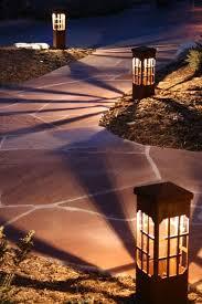 decorative pathway lighting wanker for