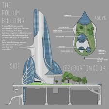building concept specialist project futuristic building design izzyburton