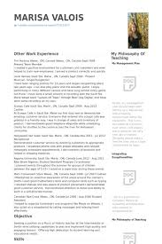 Resume Samples For Tim Hortons by Student Teacher Resume Samples Visualcv Resume Samples Database