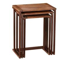 pottery barn nesting tables granger nesting tables pottery barn au