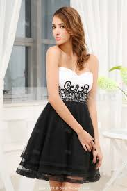 white and black short wedding dresses plus size black white