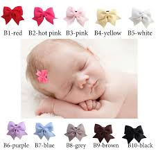 newborn hair bows adorable newborn hair bows with a holding power