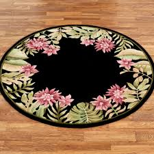 Haven Home Decor Tropical Haven Floral Area Rugs