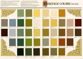 heritage colours for bungalows 1930 paint pinterest