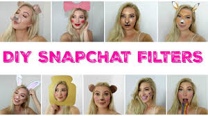diy snapchat filters halloween costumes 2016 last minute