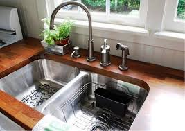 Kitchen Faucet With Built In Sprayer by Kitchen Astounding Kitchen Sinks At Home Depot Drop In Stainless
