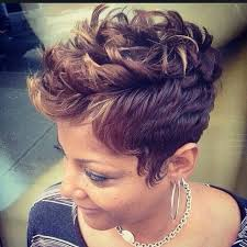 short hairstyles for black women spiked on top small curls in back and sides of hair top 5 amazing short haircuts for summer styles weekly