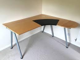 Adjustable Height Corner Desk Desks Beech Desks Ikea Attachment Beech Desks Ikea Beech Desks