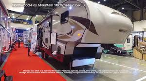 northwood fox mountain 5th wheel 235rls youtube