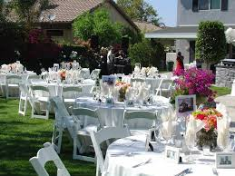 wedding decoration ideas simple backyard wedding decorations with