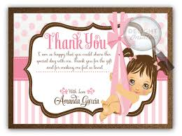 thank you baby shower pink baby shower thank you cards di 4504ty harrison greetings
