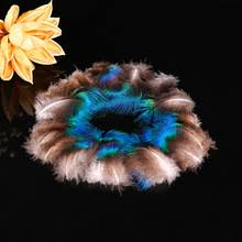 popular peacock feather home decor buy cheap peacock feather home