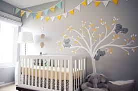 fresque murale chambre bébé decor chambre bebe chambre bleu turquoise et dcoration