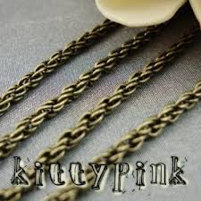 gold necklace chains wholesale images 2 50 metres antique gold bronze 2mm braided wheat jewellery chain whol jpeg
