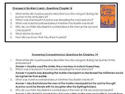oranges in no man u0027s land by philipjohnson teaching resources tes