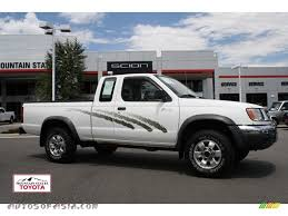 nissan 2000 4x4 1998 nissan frontier xe extended cab 4x4 in cloud white 390107